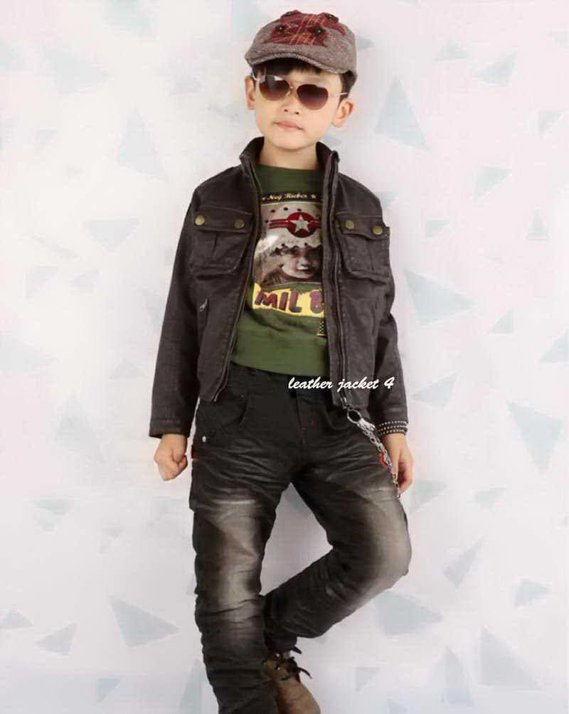 Infant leather jackets